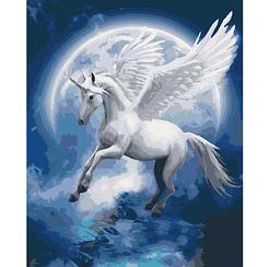 Картины по номерам - Созвездие единорога | Идейка™ 40х50 см. | КН4022