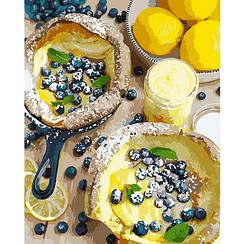 Картины по номерам - Яркий завтрак | Идейка™ 40х50 см. | КН5542