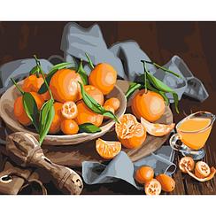 Оранжевое наслаждение - Картины по номерам | Идейка™ 40х50 см. | КН5545