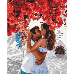 Солодкі обійми - Картини за номерами | Ідейка™ 40х50 див. | КН4675