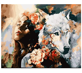 Картины по номерам - Верные души   Rainbow Art™ 40х50 см.   GX22471