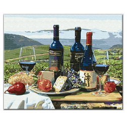 Грузинское вино - Картины по номерам | Rainbow Art™ 40х50 см. | GX3937