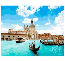 Картины по номерам - Венеция   Rainbow Art™ 40х50 см.   GX5384