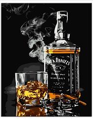 Картины по номерам - Виски и сигара | Rainbow Art™ 40х50 см. | GX5001