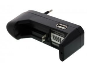 Универсальное зарядное устройство 18650 CR123a EU