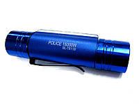 Фонарь налобный Police 811 B-18000W, XPE+SMD,  крепление на лоб, магнит Blue, фото 1
