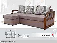 """Угловой диван """"Скил В"""" еврокнижка, фото 1"""