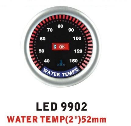 Дополнительный прибор Ket Gauge LED 9902 температура воды