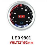 Дополнительный прибор Ket Gauge LED 9901 вольтметр. Дополнительный прибор