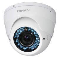 Цветная наружная антивандальная купольная камера QIHAN QH-406SNH-4H