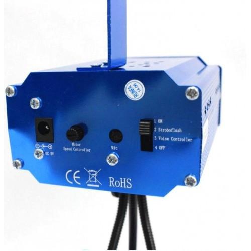 Лазерный проектор, стробоскоп лазер шоу YX-039, фото 1