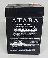 Аккумулятор Ataba 6V 6Ah, фото 1