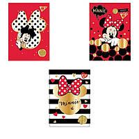"""Альбом для малювання Yes 130395 20ар А4 склейка 100г/м2 """"Minnie Gold"""" крафт"""