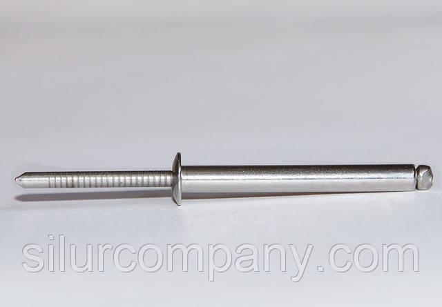 Заклепка Ф4.8 DIN 7337 со стандартным буртиком нержавеющая