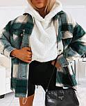 Женская трендовые рубашки в клетку (в расцветках), фото 8