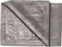 Тент строительный 2х3м серебро 140г/м2