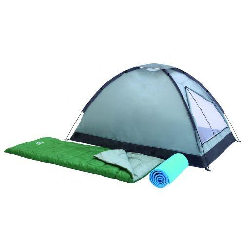 Палатка + 2 спальника + 2 каремата Bestway 68000