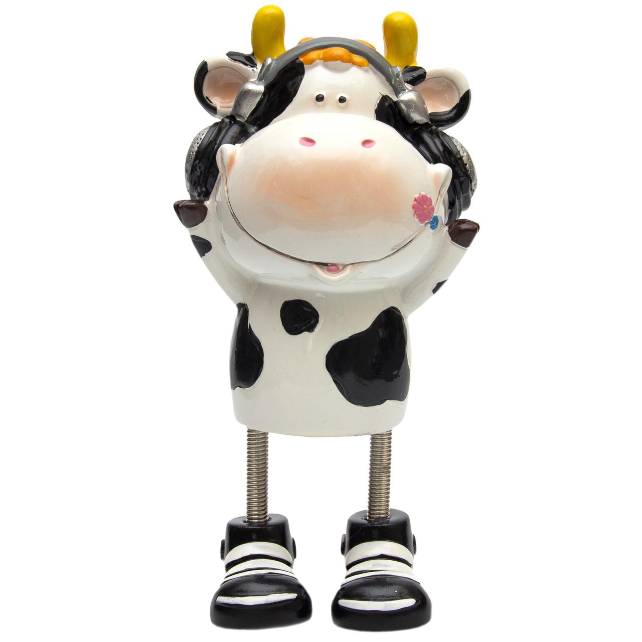 Сувенирная фигурка, корова - копилка (240722)