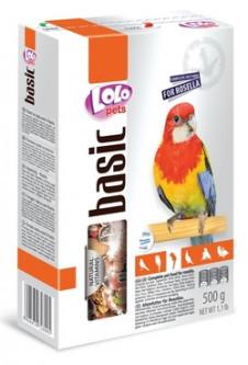 Корм для попугаев розеллы, Lolopets, 500 г