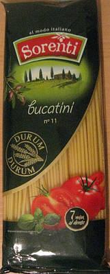 Спагетти толстые Sorenti с твёрдых сортов 400 грамм