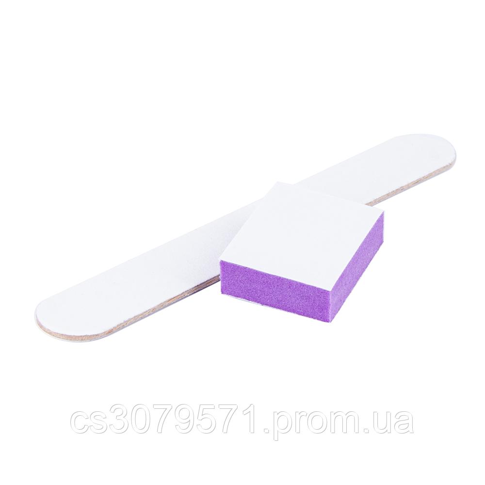 Набор одноразовый STALEKS PRO (пилка 100/180 и баф 180/240)