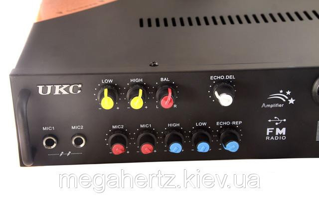 Усилитель UKC KA-102F 2*150 maxx + караоке