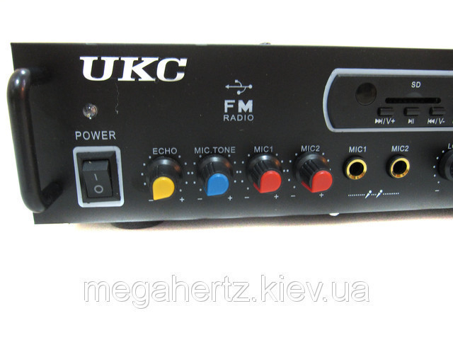 Усилитель UKC KA-097F + USB + караоке