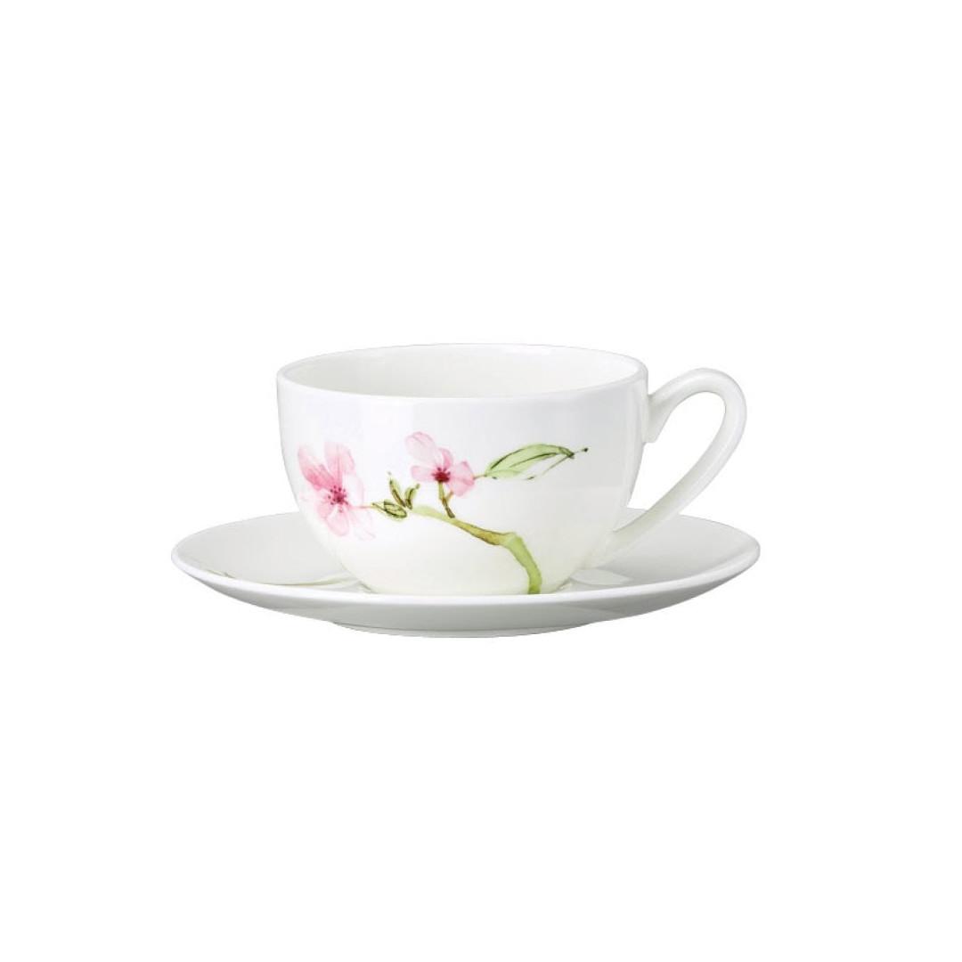 Чашка для завтрака с блюдцем Rosenthal Jade Magnolie 280 мл 61040-414124-14770
