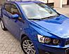 Ветровики Шевроле Авео | Дефлекторы окон Chevrolet Aveo II Hb 5d 2011