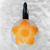 Брелок-фонарик Nite Ize ClipLit оранжевый цветок