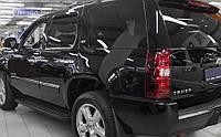 Ветровики Шевроле Тахо | Дефлекторы окон Chevrolet Tahoe III (GMT 900) 2007