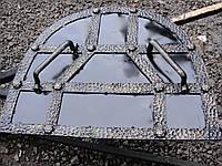 Кованая крышка-притвор для печи, фото 1