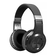 Музична Bluetooth гарнітура Bluedio НТ чорна з мікрофоном USB 3.5 джек бездротова стерео для смартфона