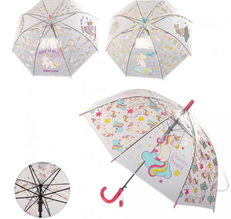 Зонтик прозрачный детский