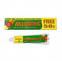 Натуральная зубная паста Dabur Miswak Herbal 170 грамм