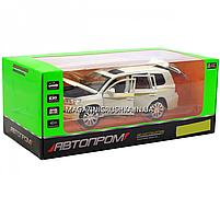 Машинка ігрова автопром «Toyota» Тойота джип, метал, 18 см, Білий (світло, звук, двері відкриваються) 7690, фото 7