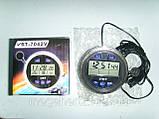 Автомобильные часы вольтметр 7042V в классику, фото 2