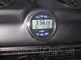 Автомобильные часы вольтметр 7042V в классику, фото 5