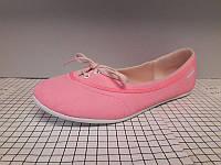 Балетки женские Adidas оригинал (Адидас), б/у, розовые, размер 40 (25,5 см)