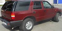 Дефлекторы окон Chevrolet Blazer II 1994-2004   Ветровики Шевроле Блейзер