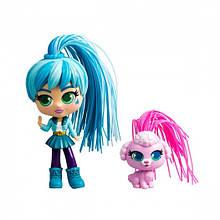 Curligirls Игровой набор с куклой и питомцем - Путешественница Адэли и Фиджи, 82096
