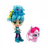Curligirls Игровой набор с куклой и питомцем - Путешественница Адэли и Фиджи, 82096, фото 4