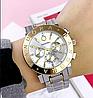 Женские металлические серебряные часы Pandora Silver Gold, жіночий годинник Пандора, фото 5