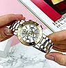 Женские металлические серебряные часы Pandora Silver Gold, жіночий годинник Пандора, фото 2