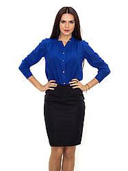Шифоноваяженская блуза с длинным рукавом