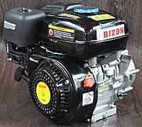 Двигатель бензиновый Bizon с понижающим редуктором и центробежным сцеплением 170F (17)