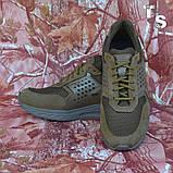 Тактичні кросівки NEWTON нубук койот сітка, фото 8