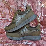 Тактичні кросівки NEWTON нубук койот сітка, фото 10