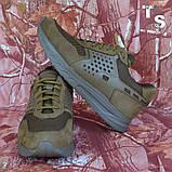 Тактичні кросівки NEWTON нубук койот сітка, фото 9