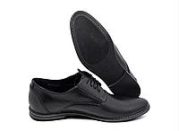 Мужские кожаные туфли классика VanKristi, фото 1